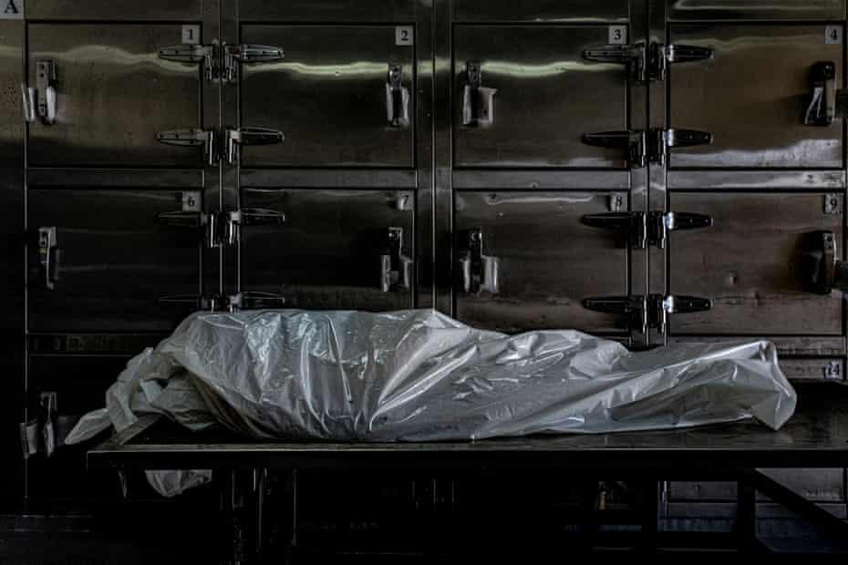 The body of Eduardo Castillo Calles, a farmer and former soldier