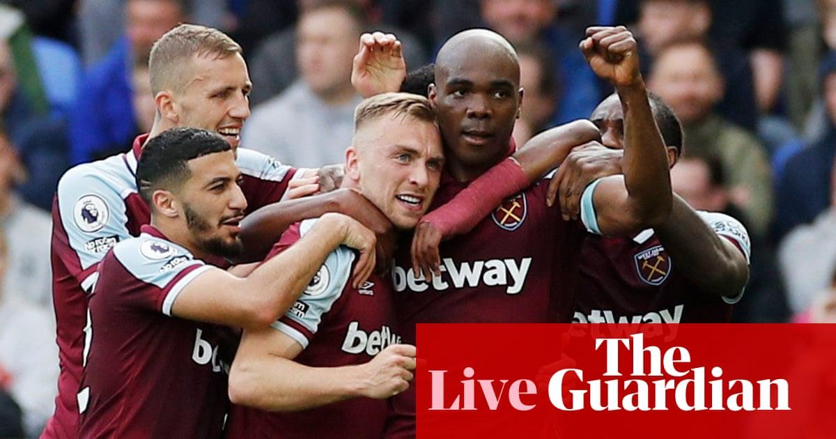 Everton v West Ham: Premier League – live!