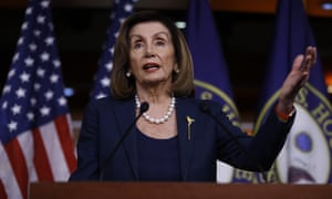 Speaker of the House Nancy Pelosi speaks during a news conference, on Capitol Hill in Washington, Thursday