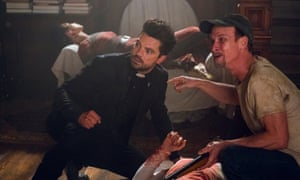 A bad man in search of God … Dominic Cooper in Preacher.