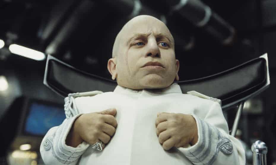 Verne Troyer in the 2002 film Austin Powers in Goldmember.