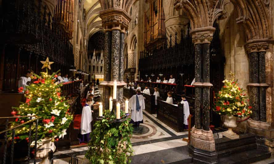 Christmas cheer will be maintained at Durham cathedral during January.