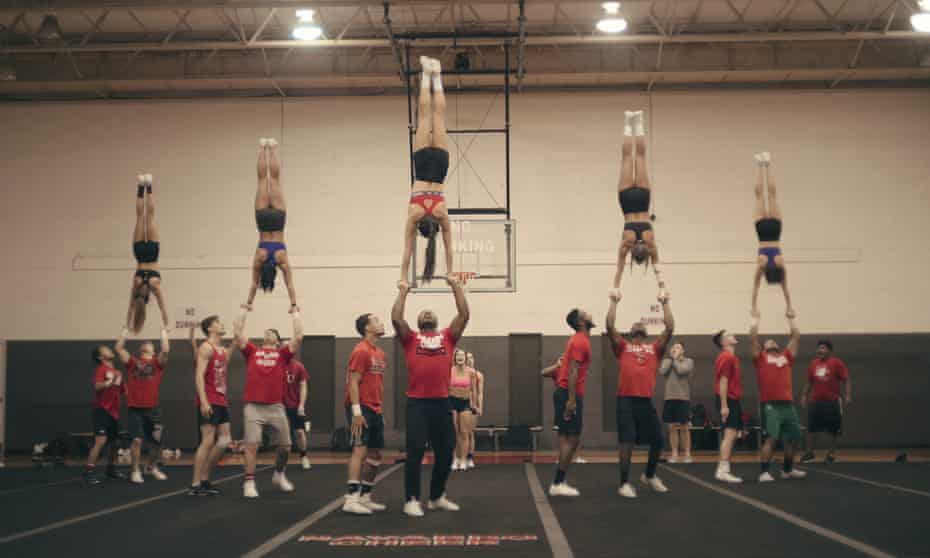 Forget everything you thought you knew about cheerleaders ... Cheer.