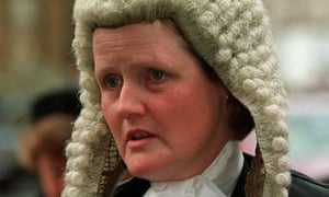 Mrs Justice Hogg QC was warned she was going to have blood on her hands (file photo 1992).