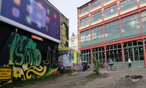 Turbo Island, a small triangle of land at the junction of Jamaica Street and Stokes Croft, Bristol