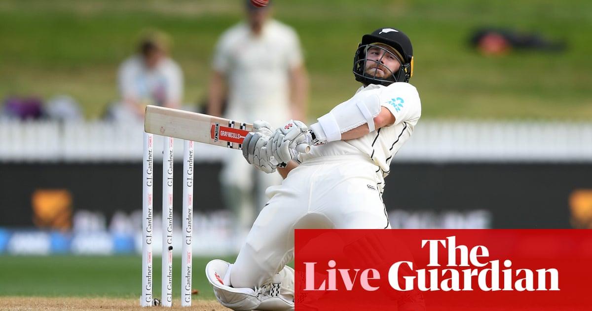 New Zealand v England: second Test, final day –live!