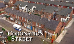 Streets ahead ... the title sequence for Coronation Street.
