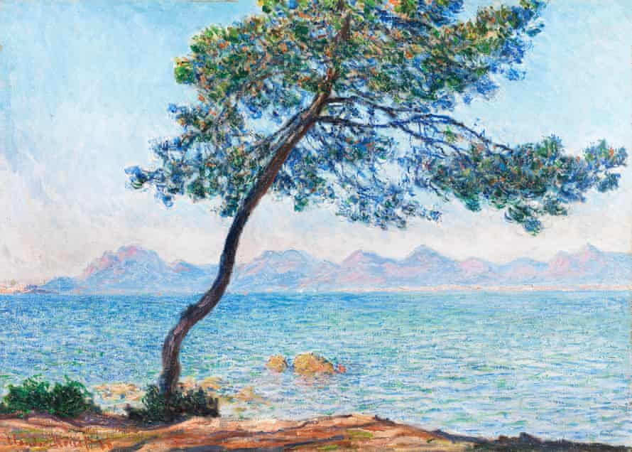 Antibes, 1888 by Claude Monet.