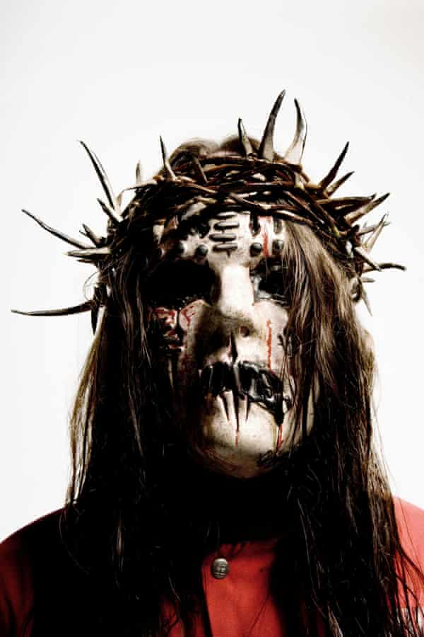 Jordison in his Slipknot outfit in 2008.