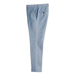 pale blue trousers