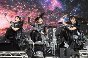 Babymetal perform on The Other Stage