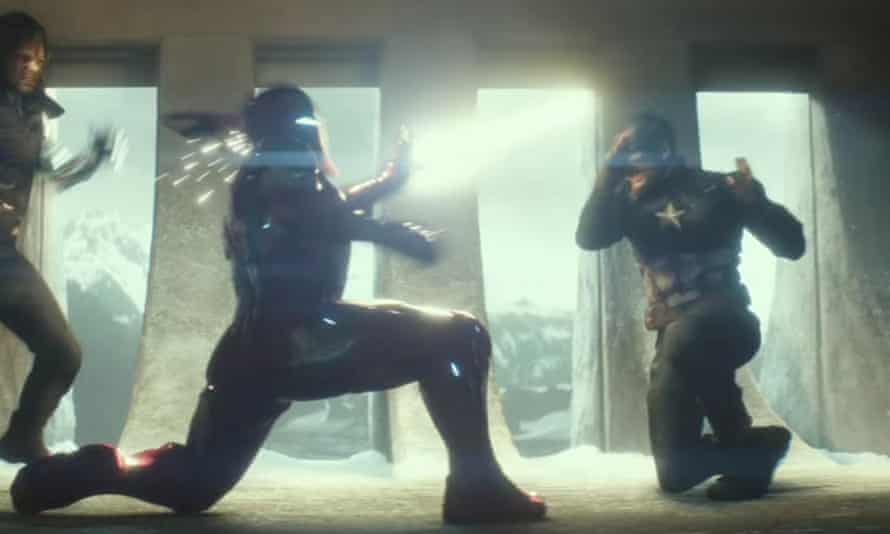 Cap and Iron Man duke it out in the Captain America: Civil War trailer.