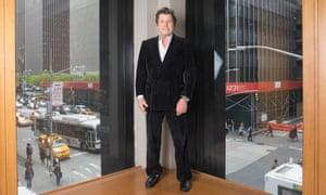 Jann Wenner in the Manhattan boardroom of Rolling Stone.