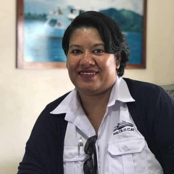 Litia Tuipulotu worked as an admin clerk for a company doing boat transfers from Nadi's Denarau Island, a popular hotspot with Australian tourists in Fiji.