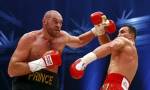 Tyson Fury defeated Wladimir Klitschko by unanimous points decision in Germany to win the heavyweight title last month.