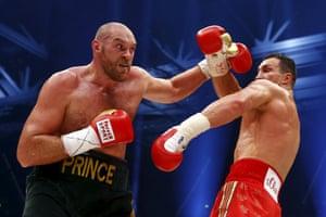 Wladimir Klitschko was uncharacteristically hesitant against Tyson Fury in 2015