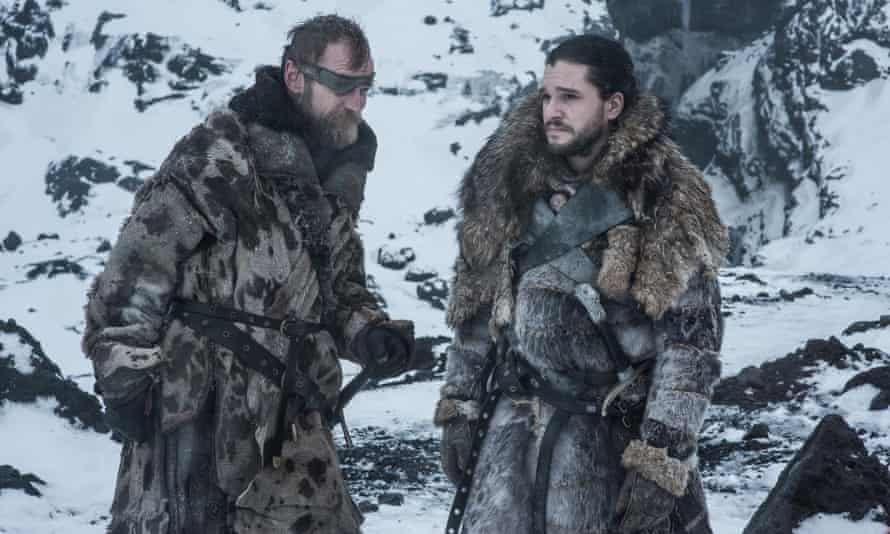 Surely Beric shouldn't have made it back home?