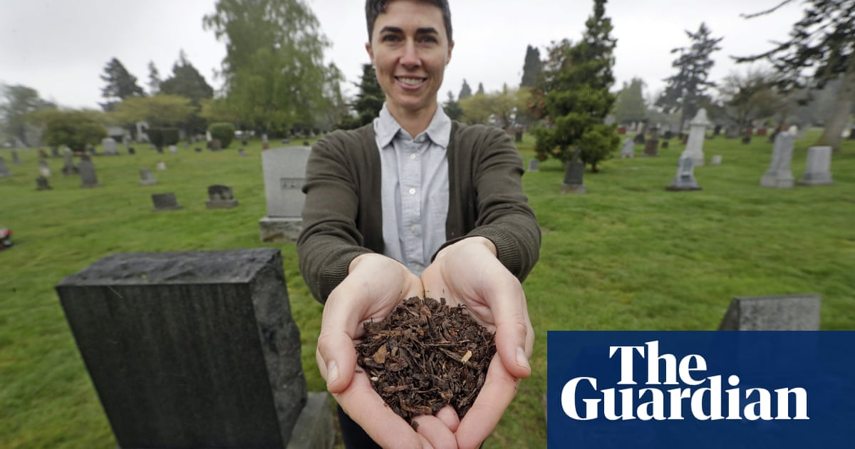 California considers human composting as a greener death option