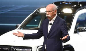 Dieter Zetsche, chairman of Daimler AG