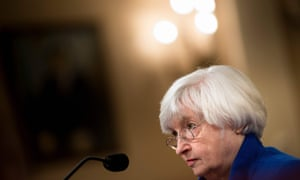 Outgrowing Federal Reserve chair Janet Yellen