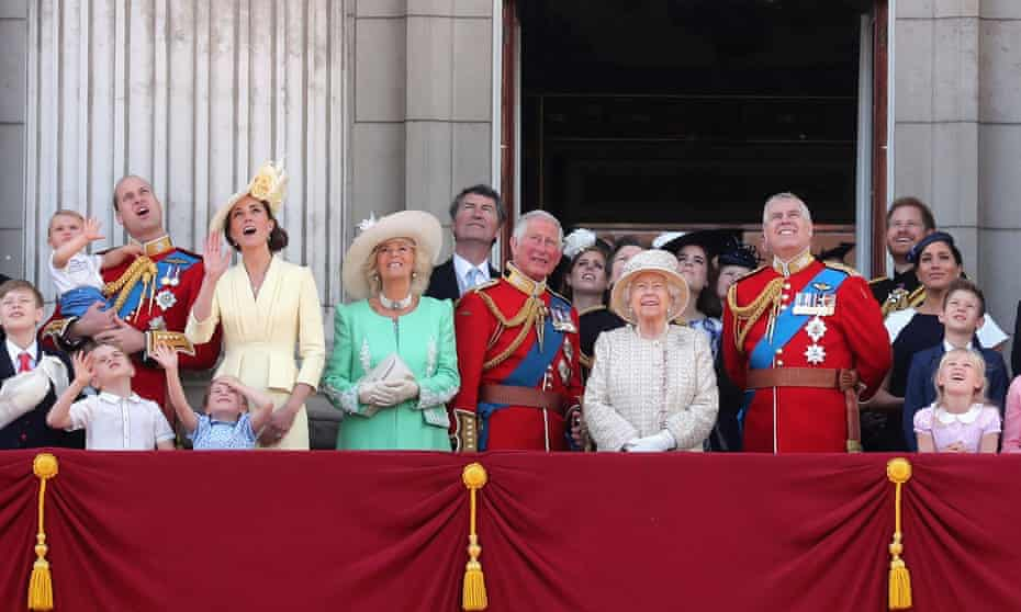 Prince Andrew stands in pride of place next to his mother the Queen during Trooping The Colour in June.
