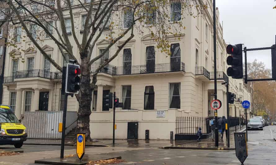 The £50m property at Hyde Park Place, London, that Malik Riaz Hussain agreed to hand over.
