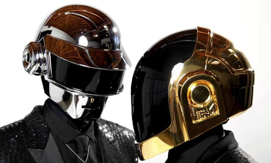 Always a step ahead ... Daft Punk in 2013.