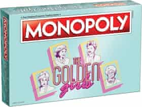 The Golden Girls Monopoly board game