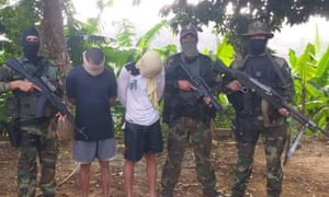 Mercenaries accused of attempting to mount a coup in Venezuela.