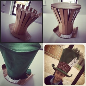 The Mad Hatters hat!