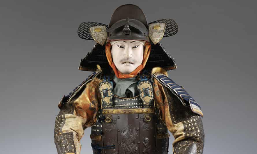 A suit of armour, c1800, that will go on display at the Toshiba Gallery of Japanese Art, V&A, London.