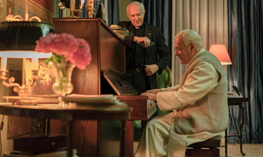 The Two Popes film still