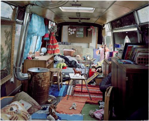 Alpha and Imani caravan interior