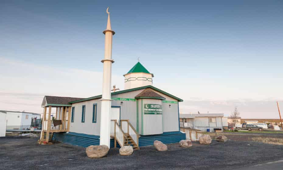 The Midnight Sun mosque in Inuvik was built in Manitoba and moved to its current location in the Arctic.