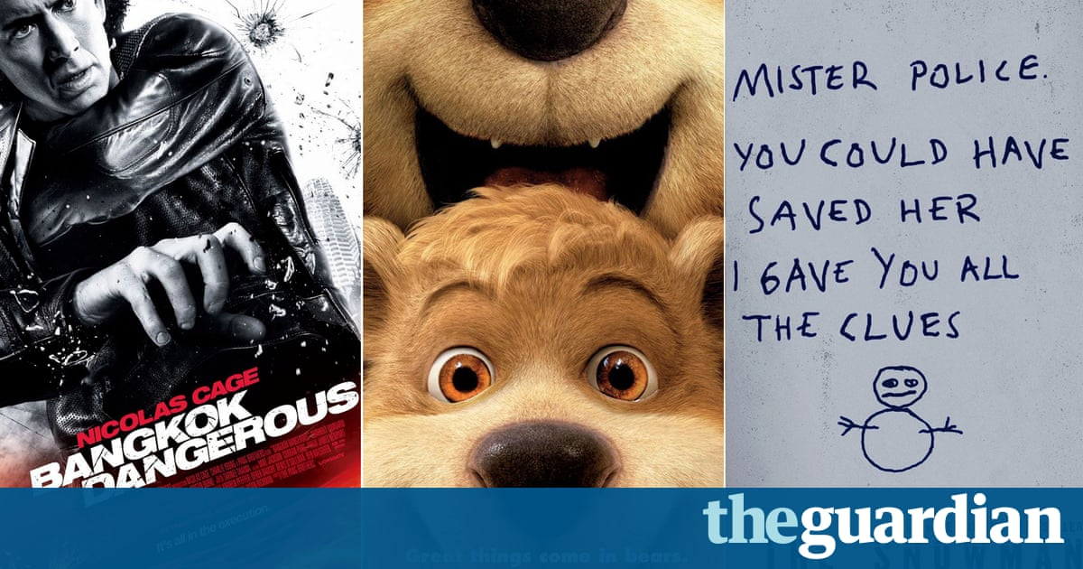 The Snowman, Yogi Bear and Hollywood's unintentionally funny movie posters