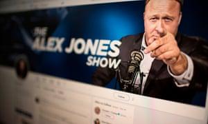 Alex Jones of InfoWars