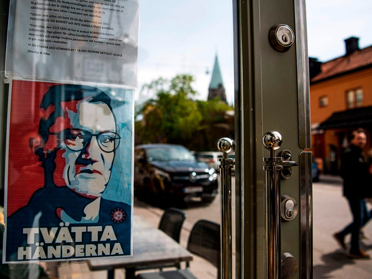 Sweden Wrong Not To Shut Down Says Former State Epidemiologist World News The Guardian