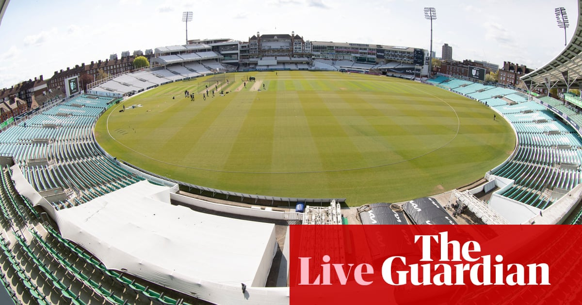 Surrey v Hampshire, Worcestershire v Essex and more: county cricket – live!