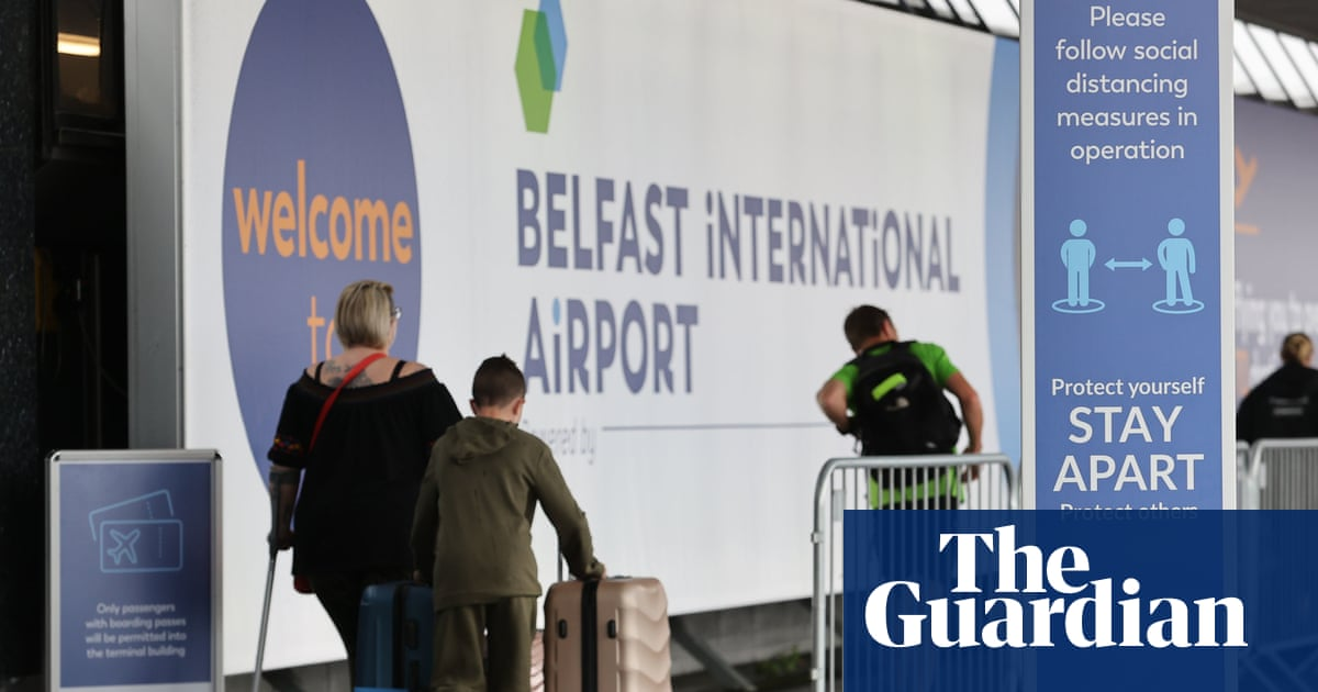 Northern Ireland to allow double-jabbed US and EU visitors without quarantine