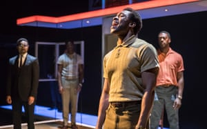 Belief in the empowering potential of pop … Arinze Kene as Sam Cooke.