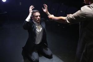 My Eyes Went DarkCal MacAninch and Thusitha Jayasundera in My Eyes Went Dark by Matthew Wilkinson at The Traverse Theatre