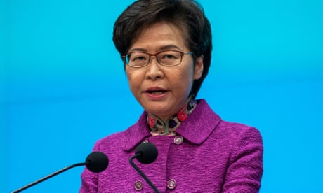 'Piles of cash at home': Hong Kong leader says US sanctions mean she has no bank account