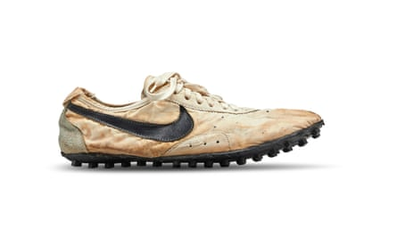 The handmade 'Moon Shoe' designed by Nike's co-founder will be part of the sale.