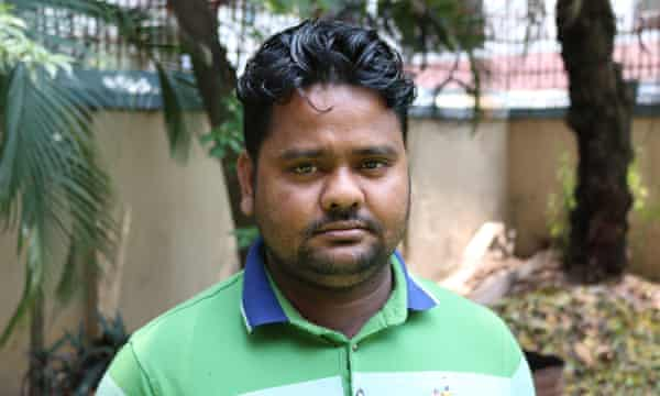 Mohammad Ibrahim, a union leader who was beaten and jailed for 60 days after being accused of organising protests over pay.