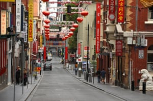 China Town in Little Bourke Street, Melbourne.
