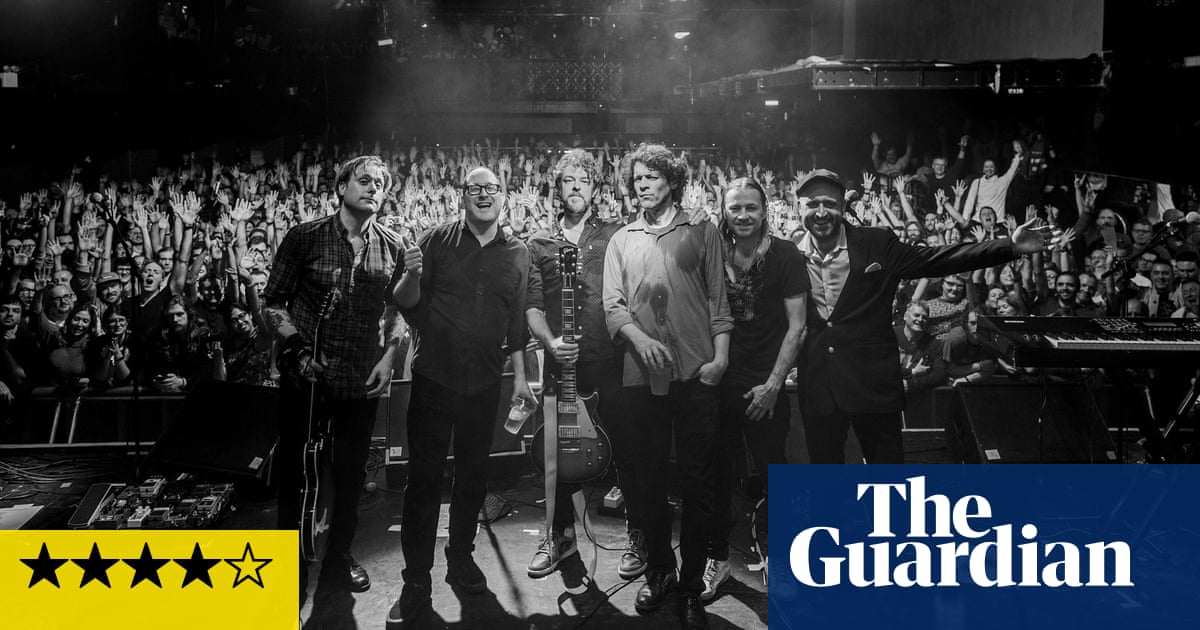 The Hold Steady: Thrashing Thru the Passion review – chancers and chasers in fist-punching glory