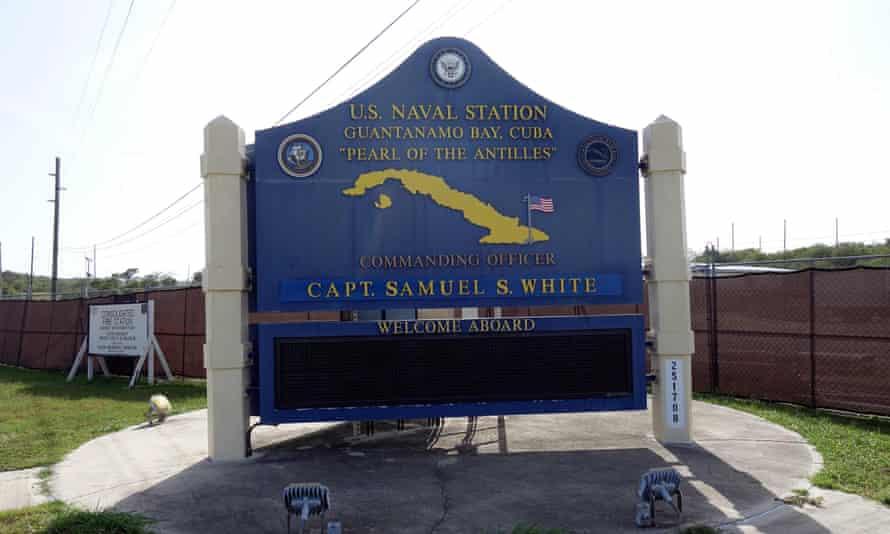 sign for guantanamo naval base
