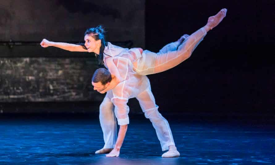 Natalia Osipova and Jonathan Goddard in Flutter.