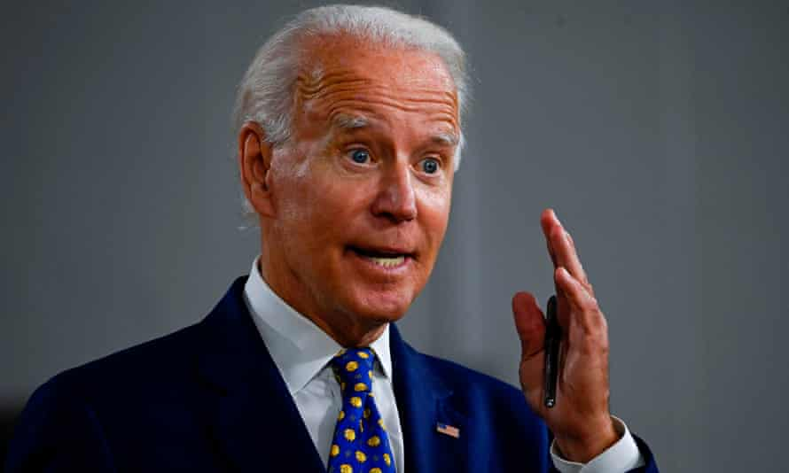 The Democratic presidential nominee, Joe Biden: 'Mr President, step up and do your job before even more American families feel the pain of losing a loved one.'