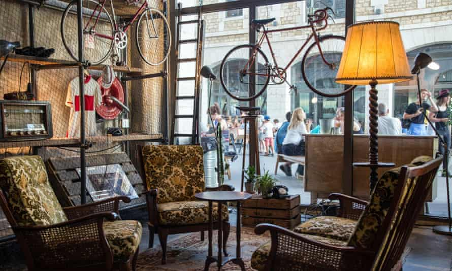'The traffic is a nightmare and the rents have gone wild' ... a hipster cafe in Bordeaux.